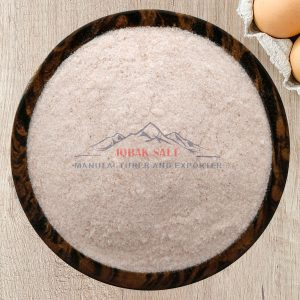 Himalayan salt powder grain